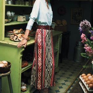 ANTHROPOLOGIE Vanessa Virg Fairisle Sweater Skirt